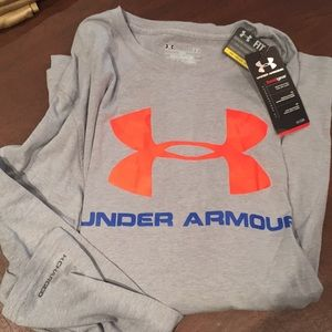 New with tags - Men's  Under Armour long sleeved T
